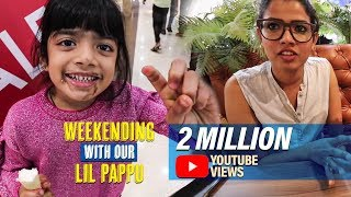 WEEKENDING WITH OUR LIL PAPPU | Amrutha Suresh | Vlog | Singer |