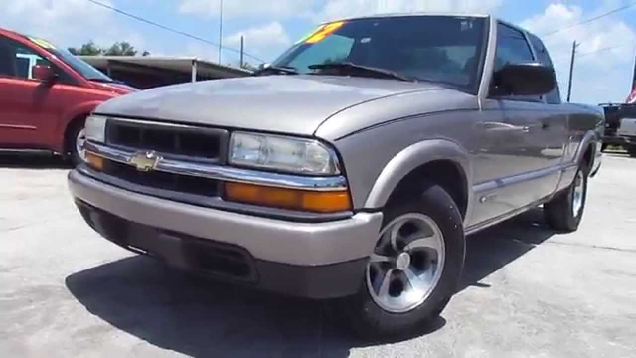2002 Live Walk-around video 2002 Chevrolet S10 LS Ext. Cab Pickup ...