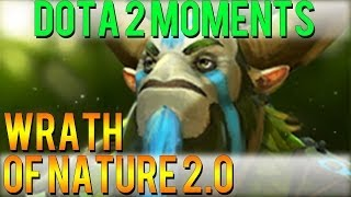 Dota 2 Moments - Wrath of Nature 2.0