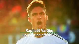 Real Madrid : Varane, la solution offensive