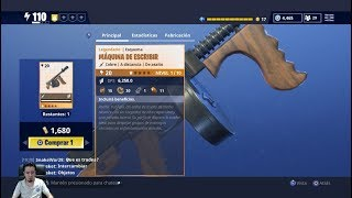 WRITING MACHINE Testing New Weapon in the Fortnite Powers and Hablities Store SAVE THE WORLD