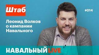 Штаб. Леонид Волков о кампании Навального. Эфир #014