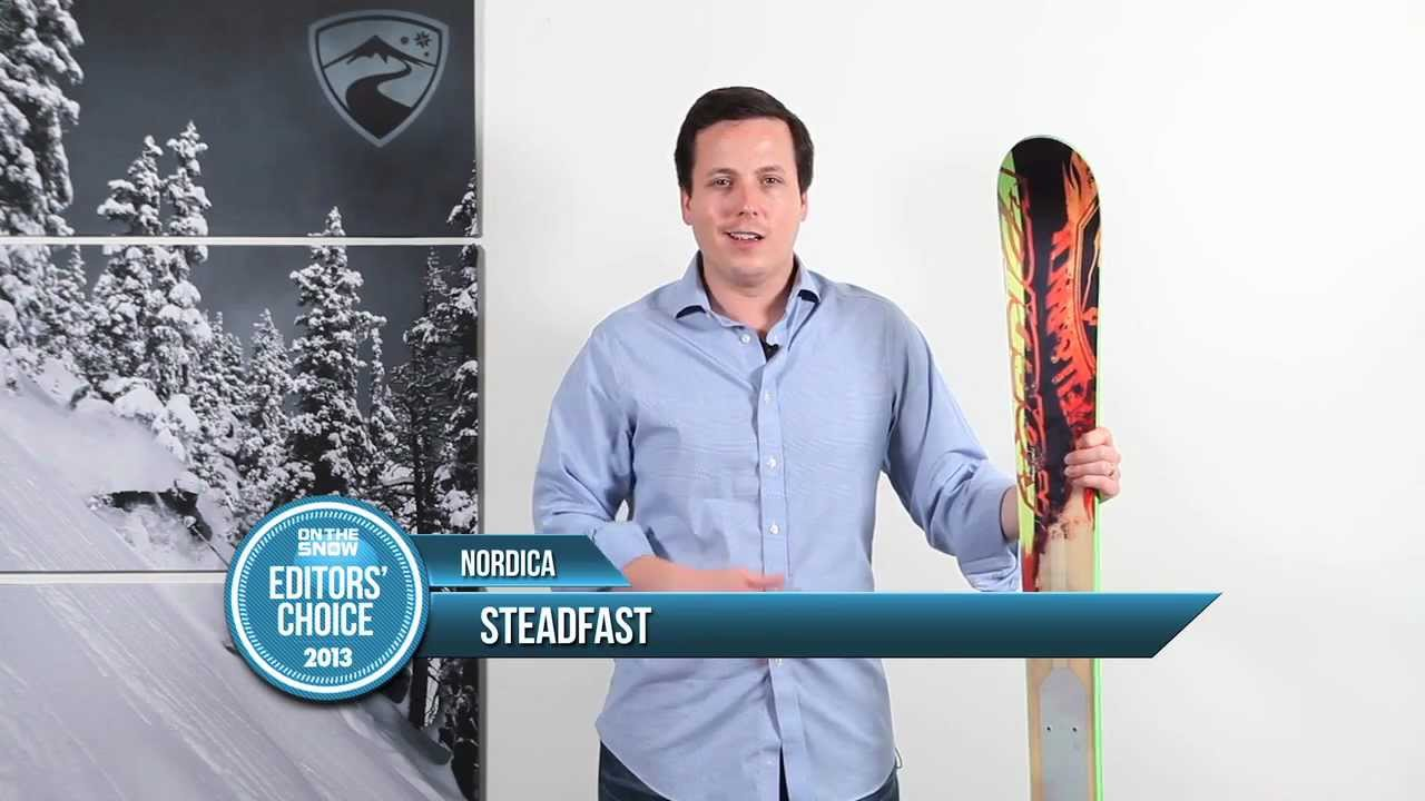 2013 Nordica Steadfast Ski Review - OnTheSnow All Mountain Editors' Pick