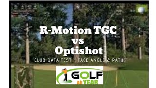 Optishot vs R-Motion Accuracy Comparison - Face Angle and Swing Path
