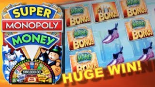 SUPER MONOPOLY - PART 1 of 3 | WMS - HUGE Win! Slot Machine Bonus (Hot Days Theme)(Here's a nice huge win on the Super Monopoly (Hot Days Version) slot machine by WMS. This was played at the Las Vegas Club at Fremont Street. I was down ..., 2014-06-02T12:16:21.000Z)