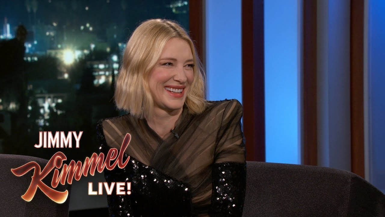 Cate Blanchett on Working with Jack Black