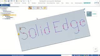 Solid Edge Trick and Tip:เทคนิดการใช้คำสั่ง Slot ใน Solid Edge