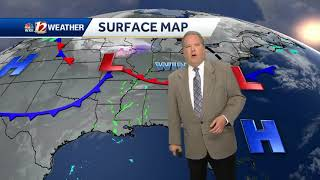 WATCH: Sunny skies, but temperatures will get cooler