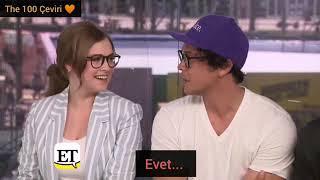Sürpriz evlilik ve 6.sezon / Bob Morley, Eliza Taylor  Richard Harmon