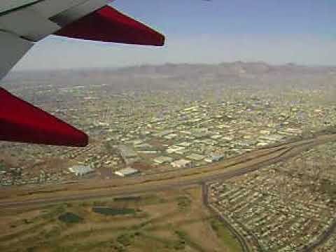 March 2009 Southwest Airlines 737 700 Takeoff El Paso Tx