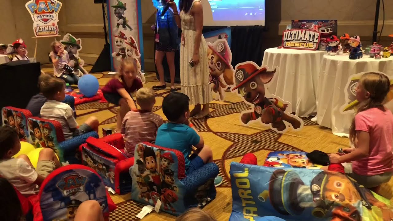 Paw Patrol Party And Ultimate Rescue New Toys Launch At Clamour18