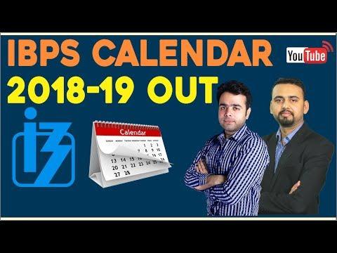 IBPS Calendar 2018-19 Out | Tentative Dates Declared For PO, Clerk & SO Exams