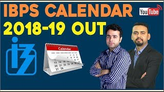 IBPS Calendar 2018-19 Out | Tentative Dates Declared For PO, Clerk & SO Exams