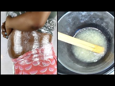APPLY JUST 10 MINUTES BEFORE BED REMOVE FAT FROM YOUR STOMACH/BELLY FAST Khichi Beauty