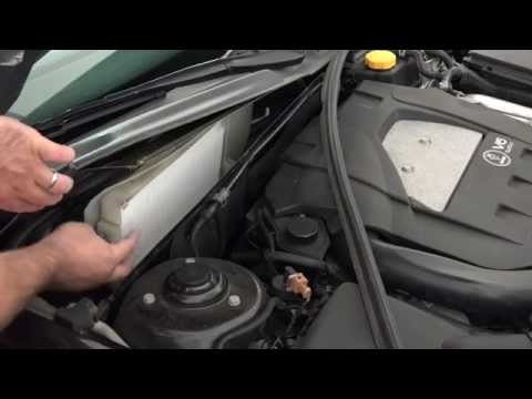 Saab 9-3 – How To Change The Cabin Air Filter