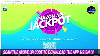 4 Lakh To Be WON👈😜👉AMAZON APP ZACKPOT🔥Technical Dost Arbind