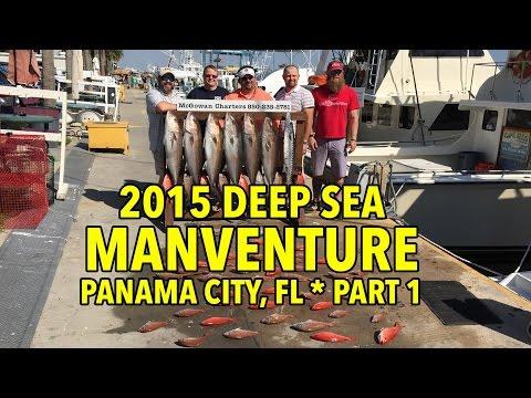 Deep Sea Fishing At Panama City Beach, FL