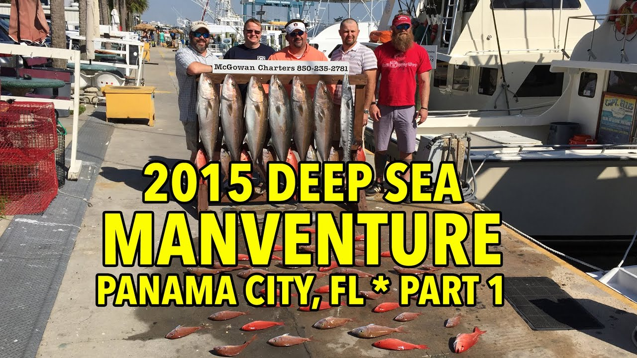Deep Sea Fishing At Panama City Beach Fl Youtube