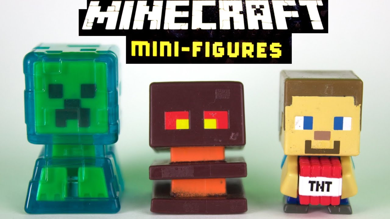 Amazon.com: Minecraft Mini Figure Collector Case: Mattel ...