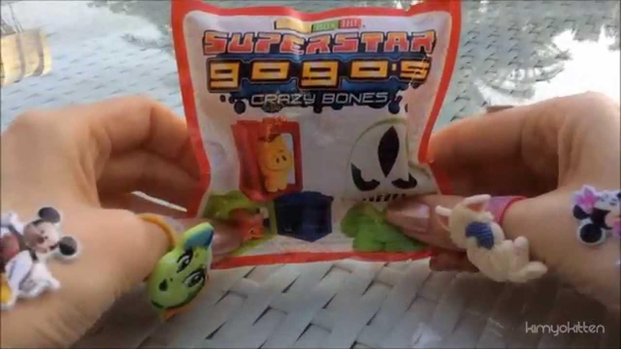 Moshi Monsters Mega Bloks Superstar Gogo's Crazy Bones Unboxing | KIMYOKITTEN