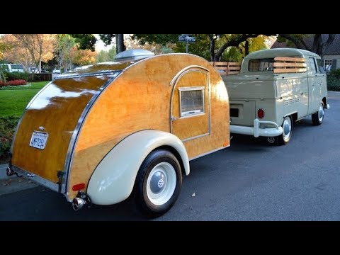 Expandable Travel Trailers >> 68 Best modern teardrop campers in 2018 - gidget retro teardrop camper 2018 - YouTube