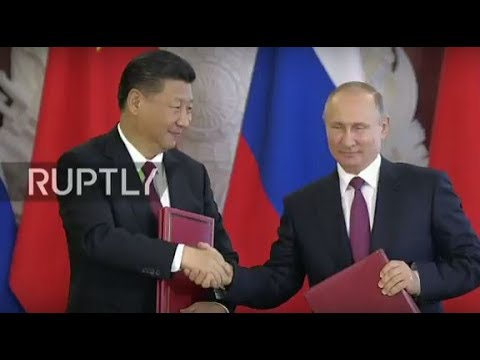 LIVE: Putin and Xi hold joint press conference in Moscow