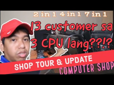 My One CPU turned in to 7 Computer Station - Computer Shop Vlog #119