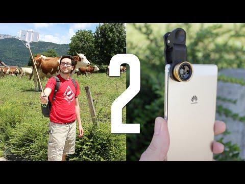 2 Objets magiques pour améliorer l'appareil photo de son smartphone