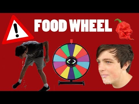 S1/E6 Food Wheel *projectile vomiting!!*