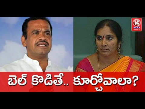 Harish Rao Slams Komatireddy Venkat Reddy For Insulting Padma Devender Reddy | V6 News