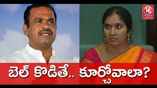 Harish Rao Slams Komatireddy Venkat Reddy For Insulting Padma Devender Reddy | V6 News