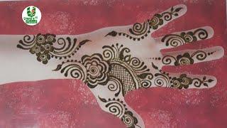 Easy Gulf Rose Henna Video Topka Ru