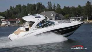 Cruisers Yachts 350 Express Test 2012- By BoatTest.com