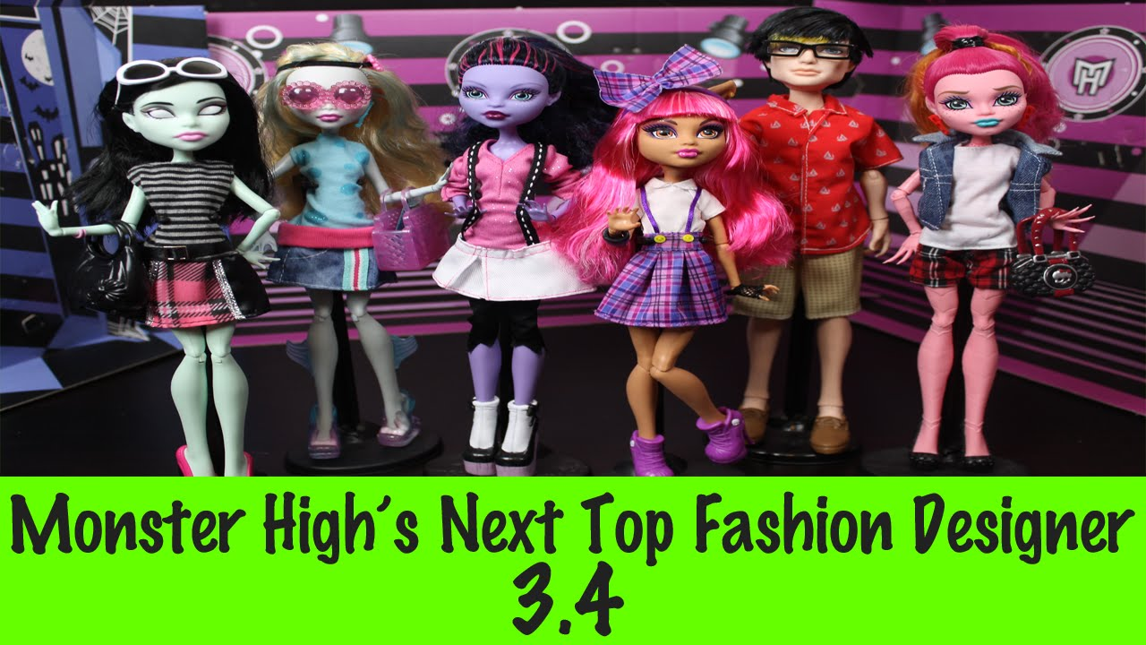 Monster High S Next Top Fashion Designer S3 Ep 4 Youtube