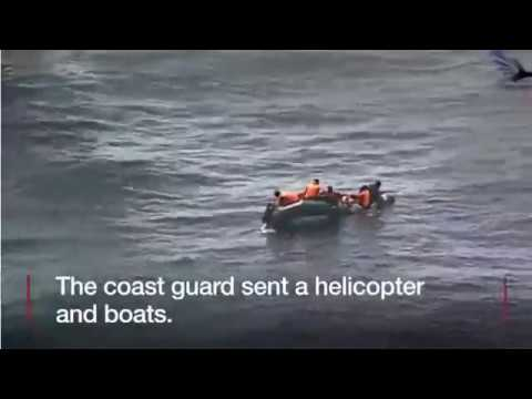 Migrant Crisis: Packed Infiltration Boat Catches Fire Off Spanish Coast