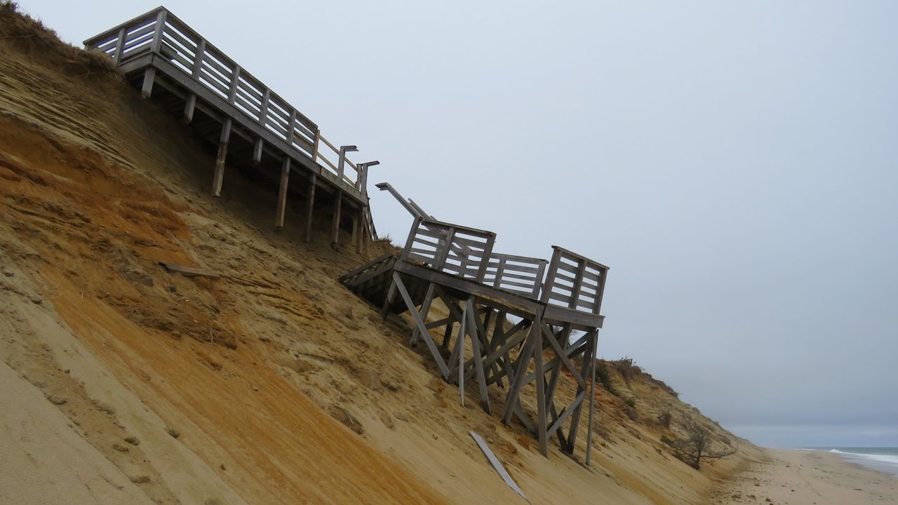Superbe Storm Damaged Marconi Beach Stairs