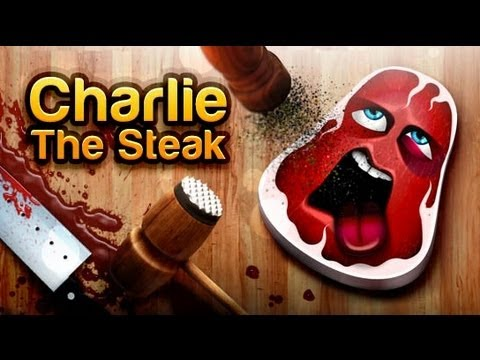 Charlie, The Steak iPhone App Review - CrazyMikesapps