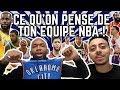 CE QUE JE PENSE DE TON EQUIPE NBA VERSION 2018 - 2019 AVEC EDDIE DAVID
