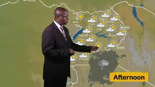 WEATHER FORECAST BY MAGYEZI AFRICAO UBC TV 11 02 2020