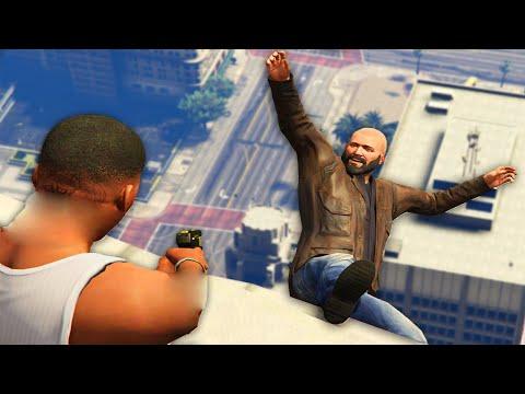 GTA 5 MISIONES OCULTAS DE FRANKLIN! - Guerra de Pandillas #1 GTA V MOD