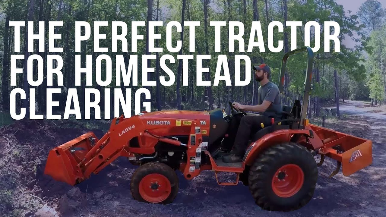 The Kubota B2650 - Our Favorite Homesteading Tractor   Forest to Farm