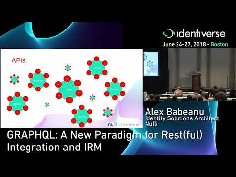 GraphQL: A New Paradigm for REST(ful) Integration and IRM (Video)