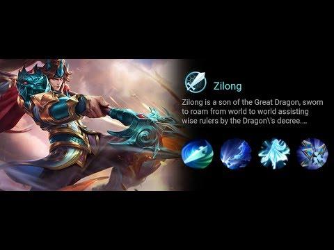 Mobile Legends: Zilong [Yun Zhao] Unstoppable Build Full Attack speed (endr11nem)