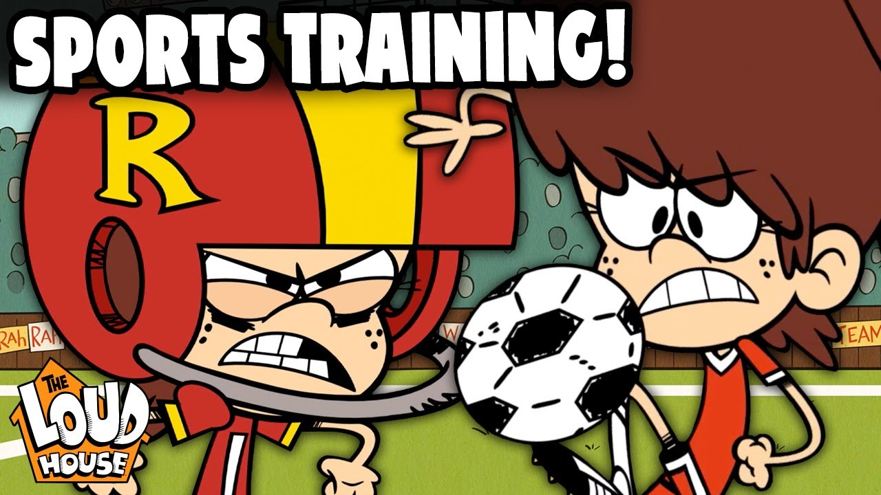 Training For The Sports Championships With Lynn Jr!   The Loud House