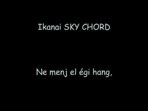 Shion Tsuji - Sky Chord ~Otona Ni Naru Kimi E~ Lyrics + Magyar fordítás