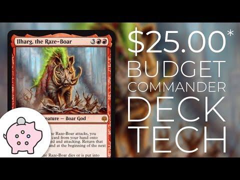 Ilharg, The Raze-Boar | EDH Budget Deck Tech $25 | Triggers | Magic The Gathering | Commander
