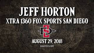SDSU FOOTBALL: JEFF HORTON - XTRA 1360 FOX SPORTS SAN DIEGO