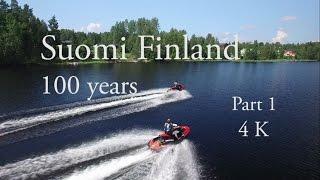 Suomi Finland 100 years