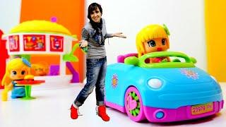 Игры для девочек - куклы Пинипон и Маша Капуки Кануки - Мультик из игрушек