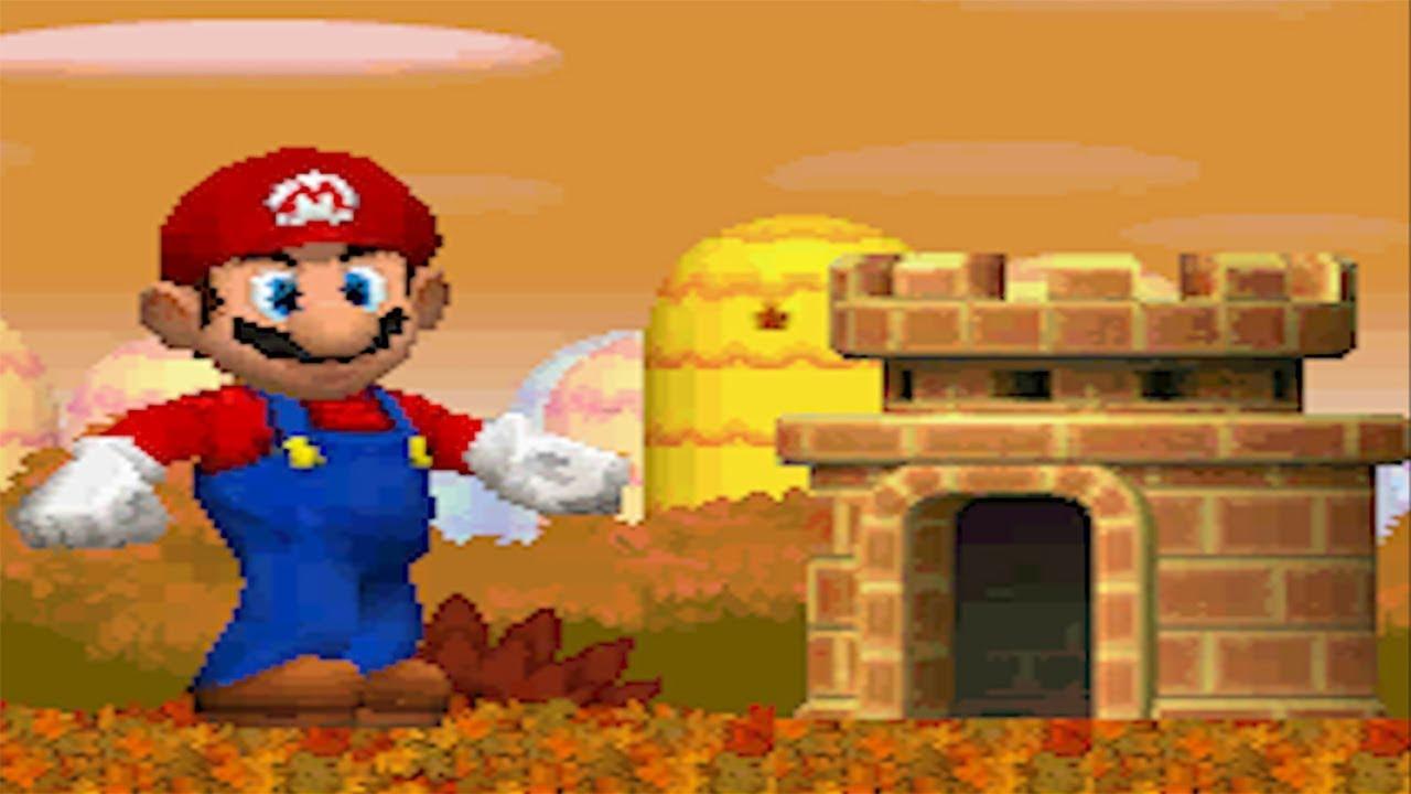Newer Super Mario Bros Ds 100 Walkthrough Part 1